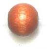 Wooden Bead Round 8mm Light Brown